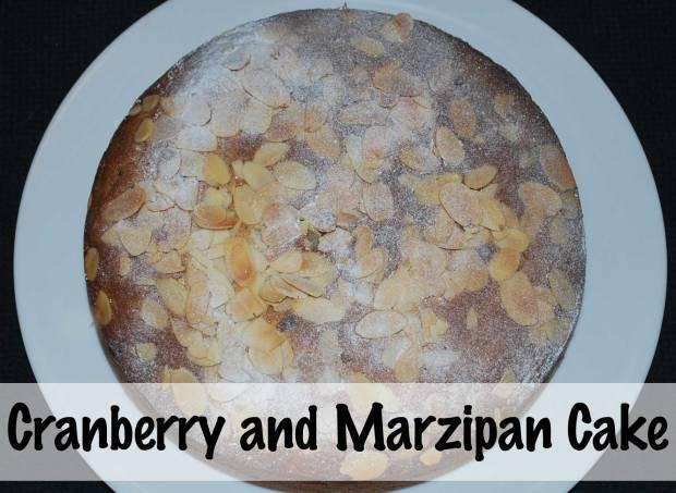 Cranberry-&-marzipan-cake